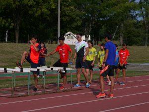 2019JITA T&F summercamp Kyoushitsu1
