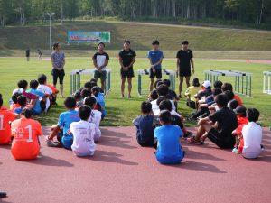 2019JITA T&F summercamp Kyoushitsu2